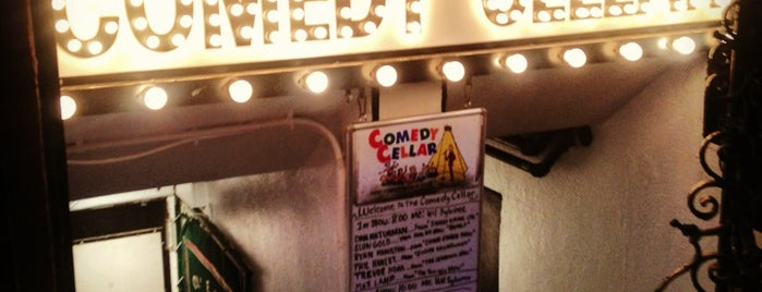 Comedy Cellar is one of Bye NYC.
