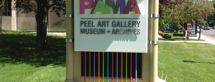 Peel Art Gallery Museum and Archives is one of Go - Toronto oh Canada.