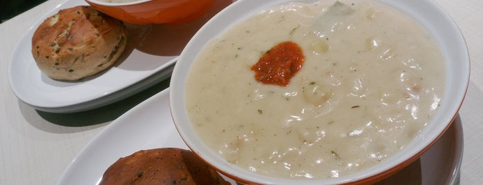 The Soup Spoon is one of Veggie choices in Non-Vegetarian Restaurants.