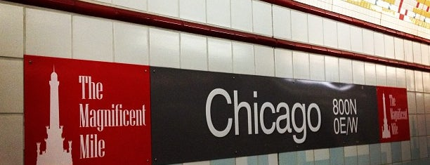 CTA - Chicago (Red) is one of Tempat yang Disukai Alberto J S.