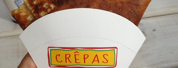 Crêpas is one of Santiagoさんのお気に入りスポット.