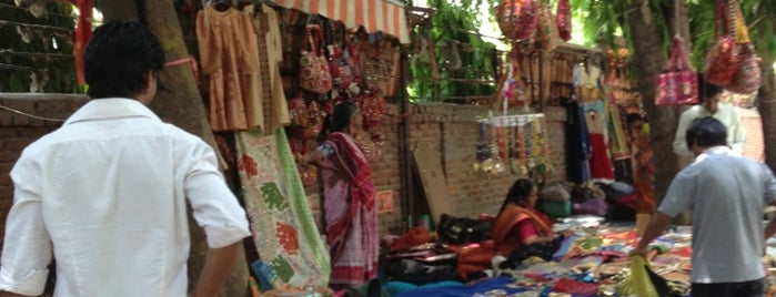 Janpath Street Market is one of DELHI.