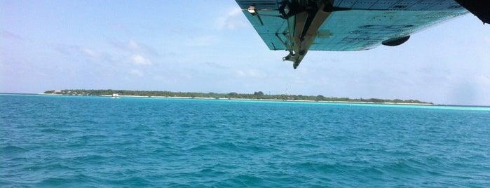 Soneva Fushi International Airport is one of Maldives - The Sunny Side of Life.