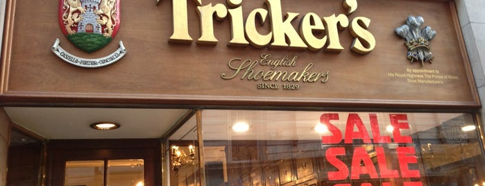 Trickers is one of Men's shoe stores.