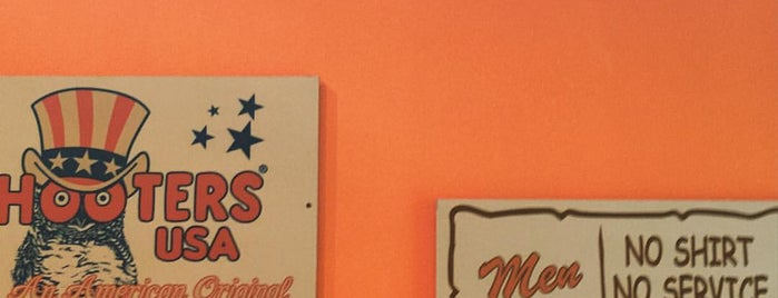 HOOTERS is one of Topics for Restaurant & Bar ⑤.