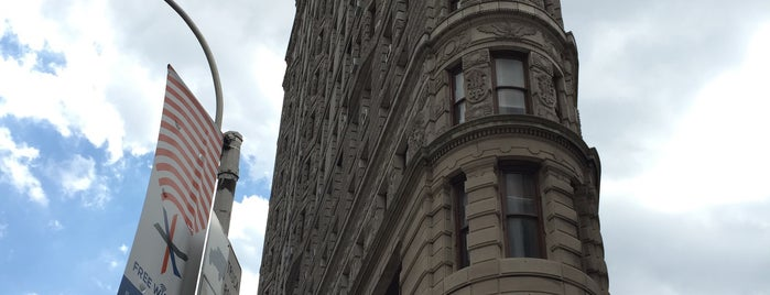 Flat Iron Cross Building is one of New York Sights.