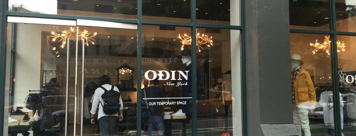 Odin is one of NYC Threads, SoHo / LES Edition.