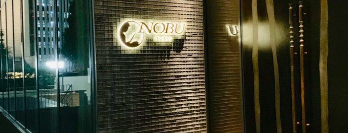 NOBU TOKYO is one of Japan.