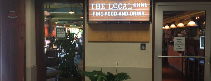 The Local @ HNL is one of Topics for Restaurant & Bar ⑤.