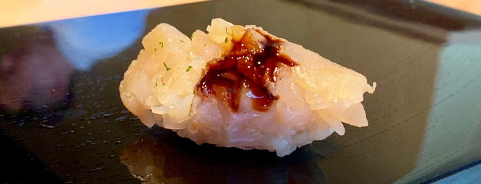 Sushi Yoshizumi is one of SF Michelin 1 Star.