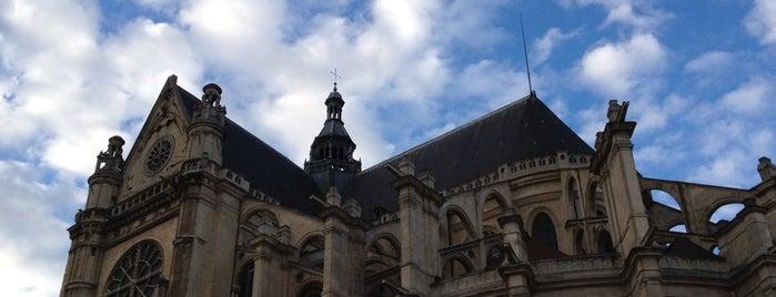 Église Saint-Eustache is one of Paris.