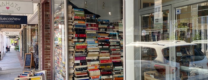 Halfmoon Books is one of Kingston.