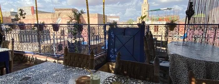 Terrasse Bakchich is one of Marrakech.