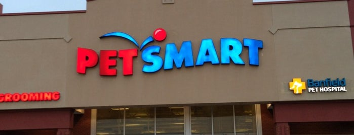PetSmart is one of Where Aaron spends his money.