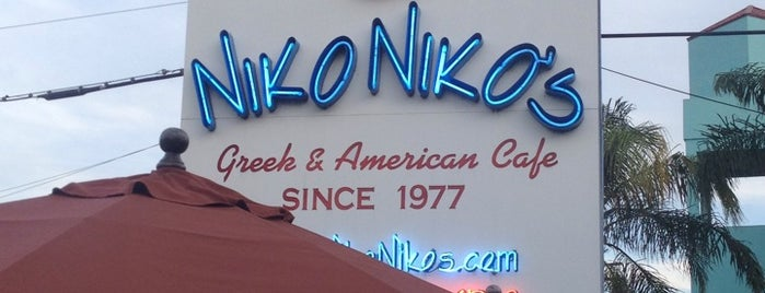 Niko Niko's is one of Texas Houston eats.