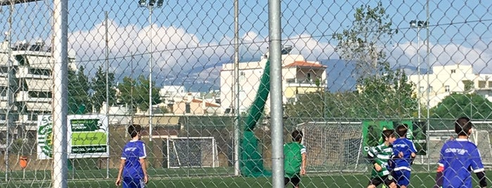 A.F.C. Football court is one of Ioannis-Ermis 님이 좋아한 장소.