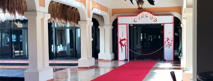 Now Sapphire Theater is one of Puerto Morelos.