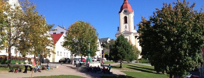 Štramberské náměstí is one of Sightseeing.