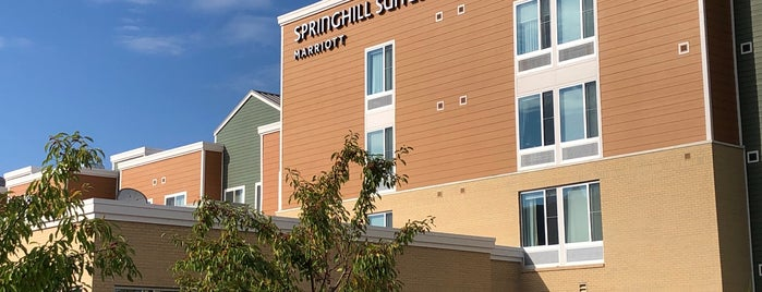 SpringHill Suites by Marriott Fishkill is one of Tempat yang Disukai MSZWNY.