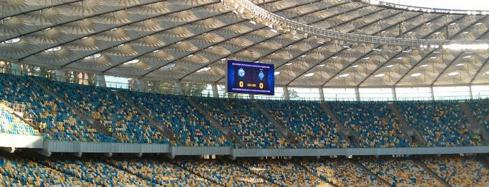 Estadio Olímpico de Kiev is one of International Sports~Part 2....