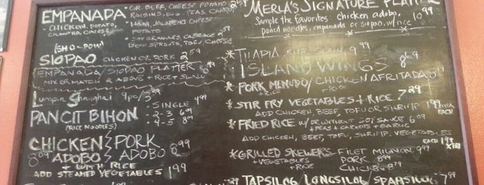 Merla's Kitchen is one of Filipino Restaurants in Chicago.