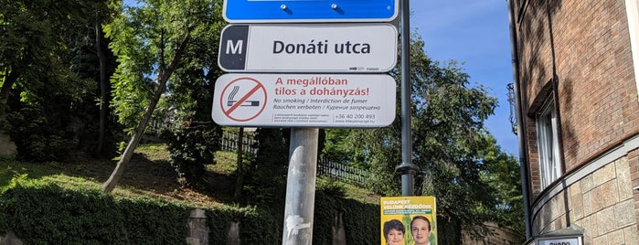 Donáti utca is one of My Budapest.
