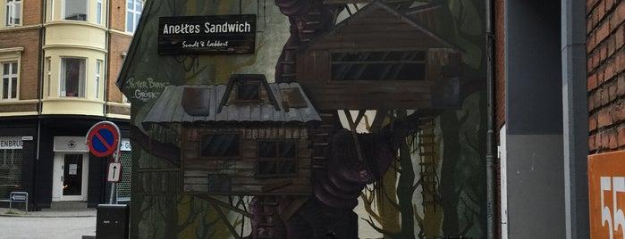 Anettes Sandwich is one of Aarhus.
