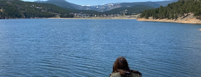 Barker Reservoir is one of Gespeicherte Orte von Sarah.