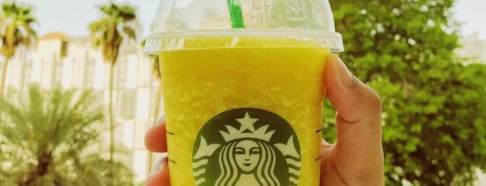 Starbucks is one of Riyadh.