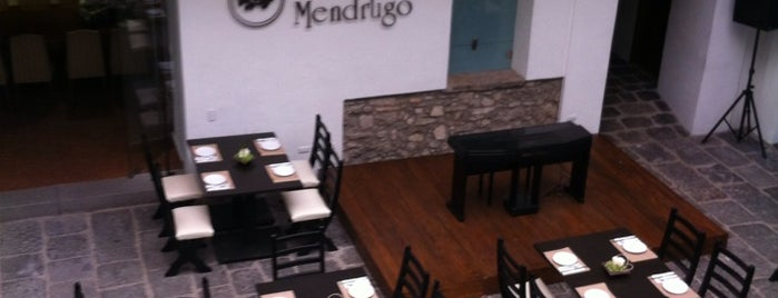 La Casa del Mendrugo is one of Restaurantes.
