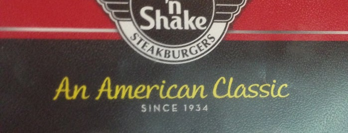 Steak 'n Shake is one of Dekalb.