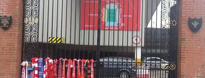 Anfield is one of Soccer Stadiums.