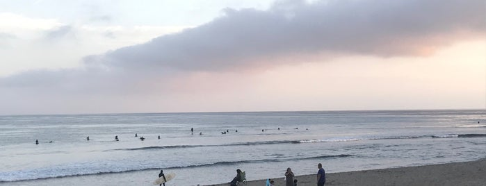 Surfrider Beach is one of Lonely Planet LA.