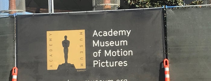Academy Museum of Motion Pictures is one of LA.