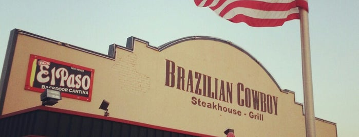 Brazilian Cowboy Steakhouse & Grill is one of William's Liked Places.
