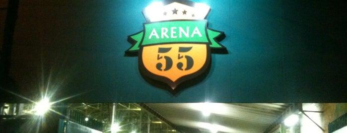 Arena 55 is one of Tempat yang Disukai Flávio.