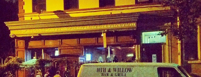 10th and Willow is one of PALM Beer in Hoboken.