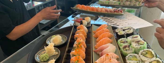 Takumi Sushi is one of The real dinner spot list.