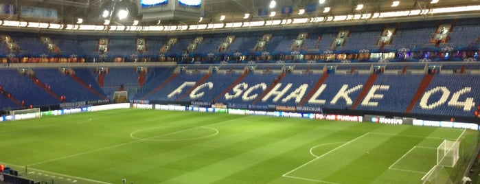 Veltins Arena is one of Tino 님이 좋아한 장소.