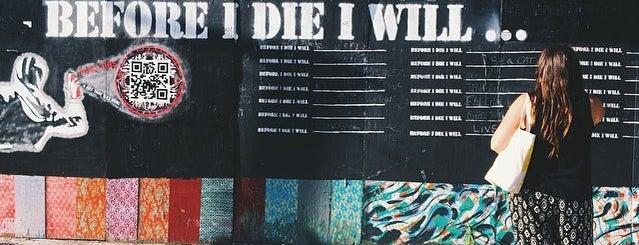 Before I Die Mural is one of NYC.
