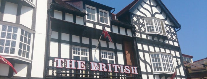 The British Hotel is one of Pubs - Isle of Man.