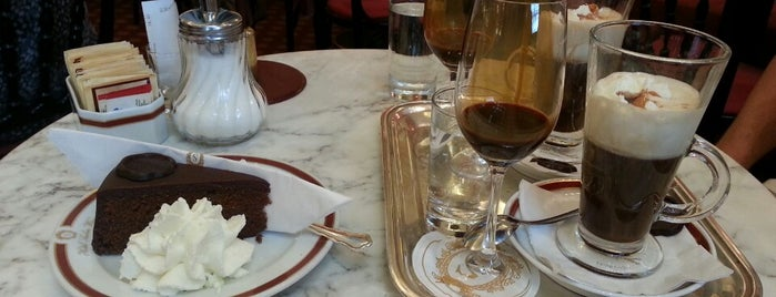 Café Sacher is one of Wien AT.