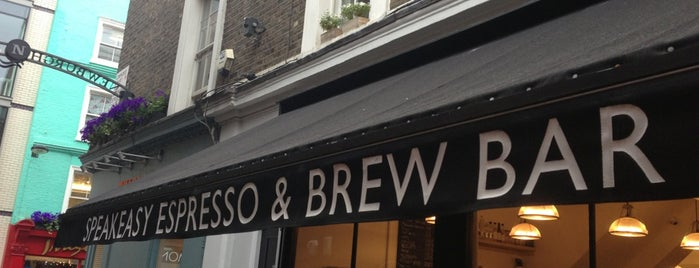 Department of Coffee and Social Affairs is one of Great Independent Coffee Shops in London.