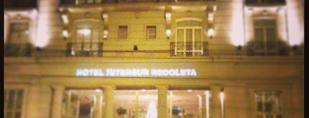 Intersur Recoleta Hotel is one of Locais curtidos por Vinicius.