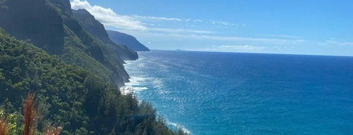 Napali Coast is one of 🚁 Hawaii 🗺.