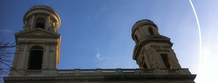 Église Saint-Sulpice is one of Paris.