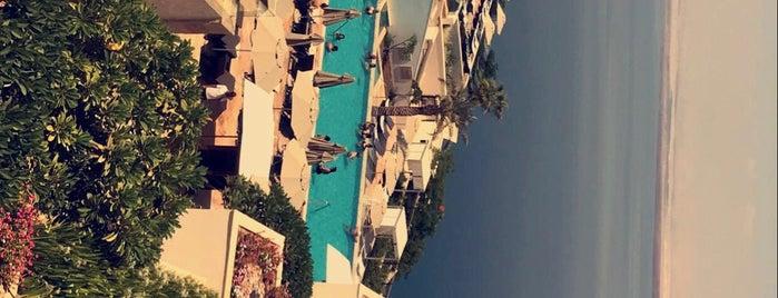 Hilton Dead Sea Resort And Spa is one of Lugares favoritos de Marco.