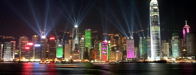 Symphony of Lights is one of Hongkong.