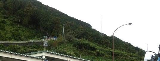 入野PA (下り) is one of 松山自動車道.