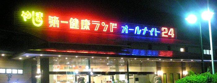 やしま第一健康ランド is one of プチ旅行に使える!四国の温泉・銭湯 ~車中泊・ライダー~.